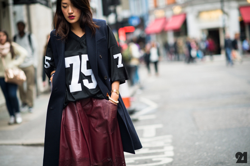 street look rouge burgundy