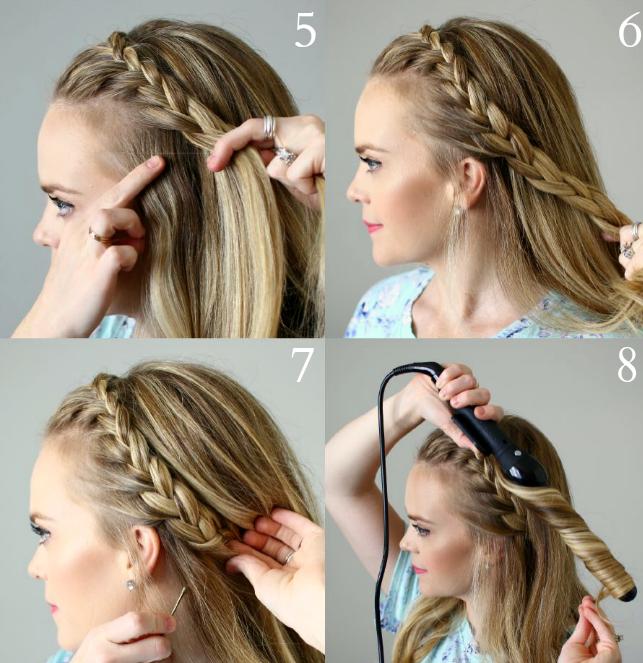 tutoriel tresse bandeaux coiffure naturelle