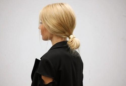 hair cuff  queue de cheval