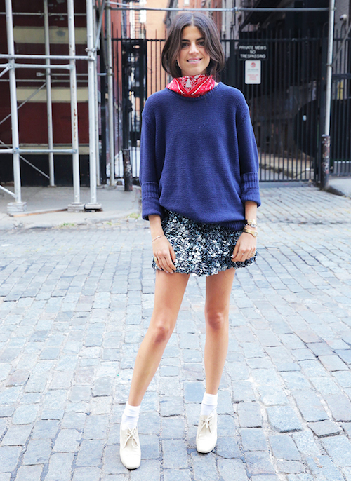 man repeller chausette street style