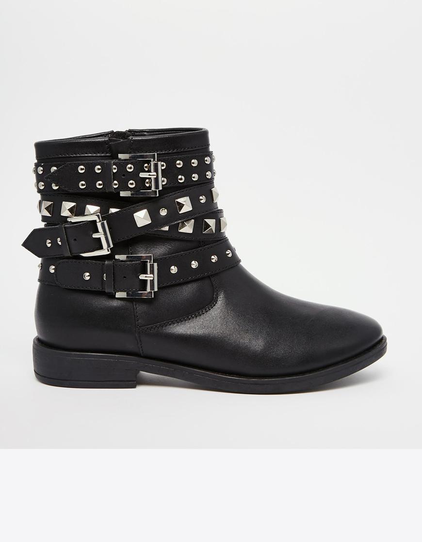 Asos - Boots façon rock noires