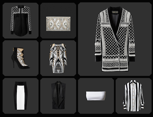 collection Balmain x H&M