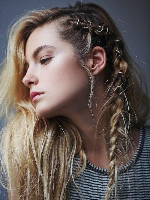 Le Hair Rings : La coiffure qui fait sensation sur la Toile