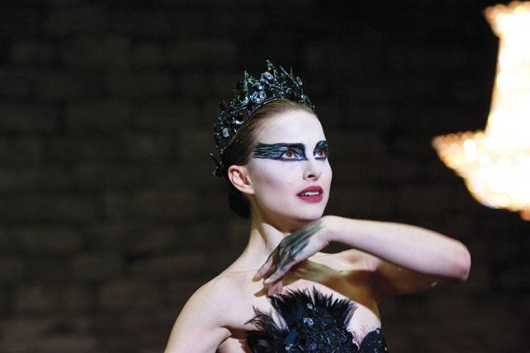 tuto make up black swan halloween