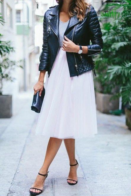 street style jupe tulle