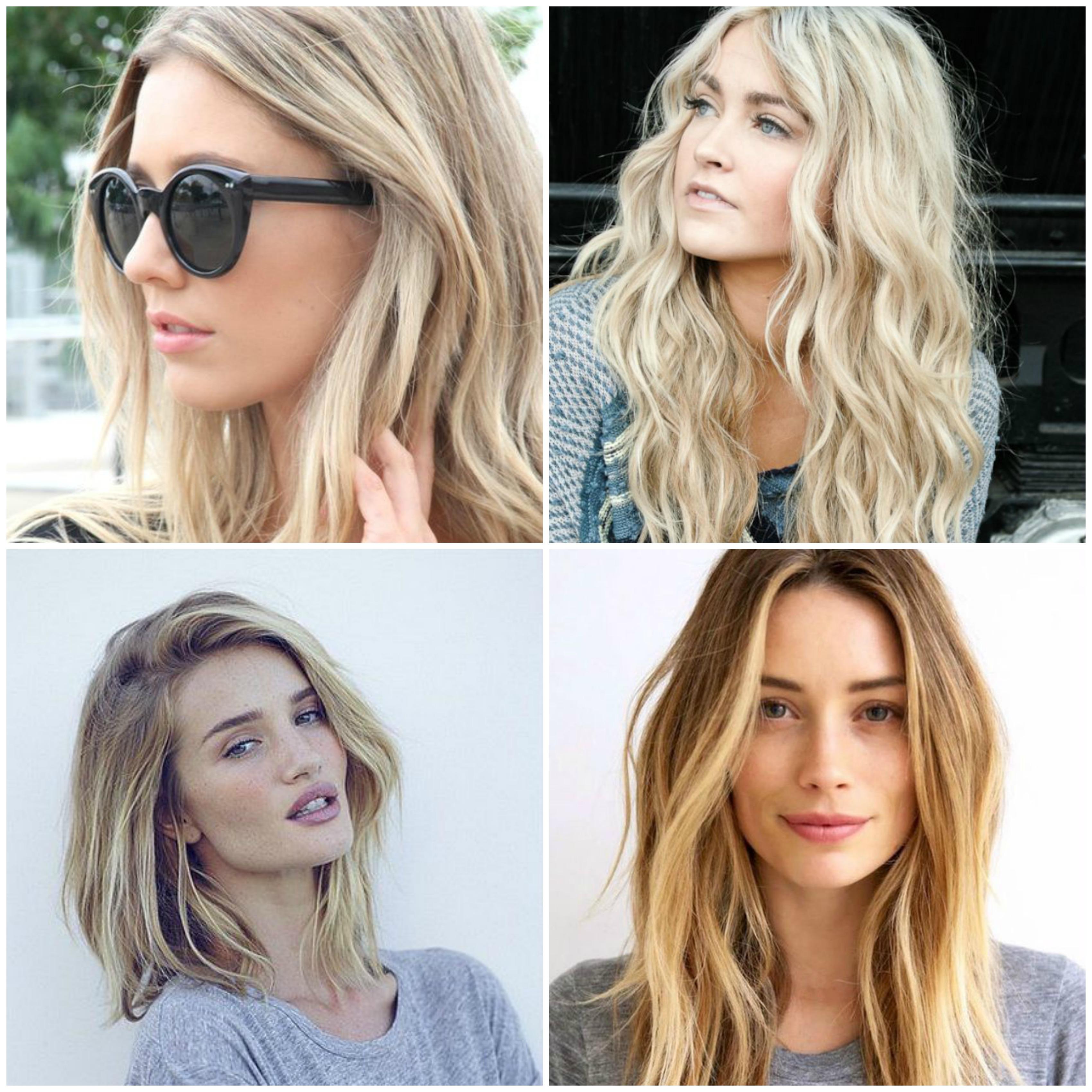 Quelle couleur sur cheveux blonds