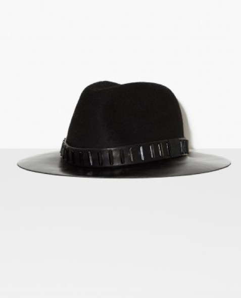 The Kooples - Chapeau  noir bandeau