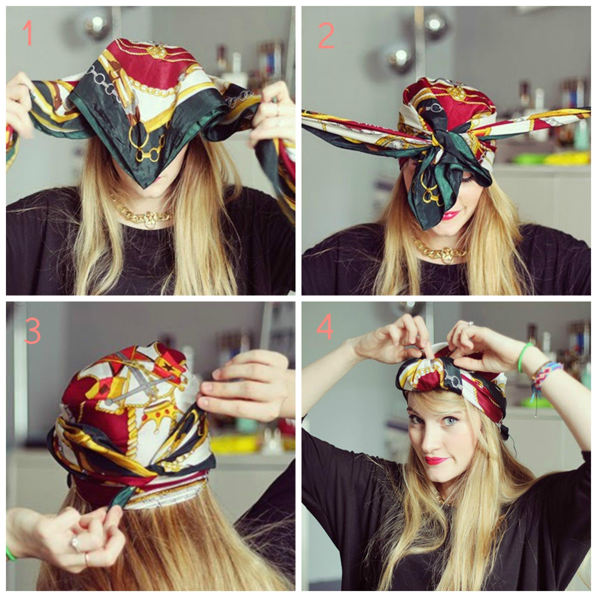 Comment Porter Le Foulard Dans Les Cheveux Avec Style