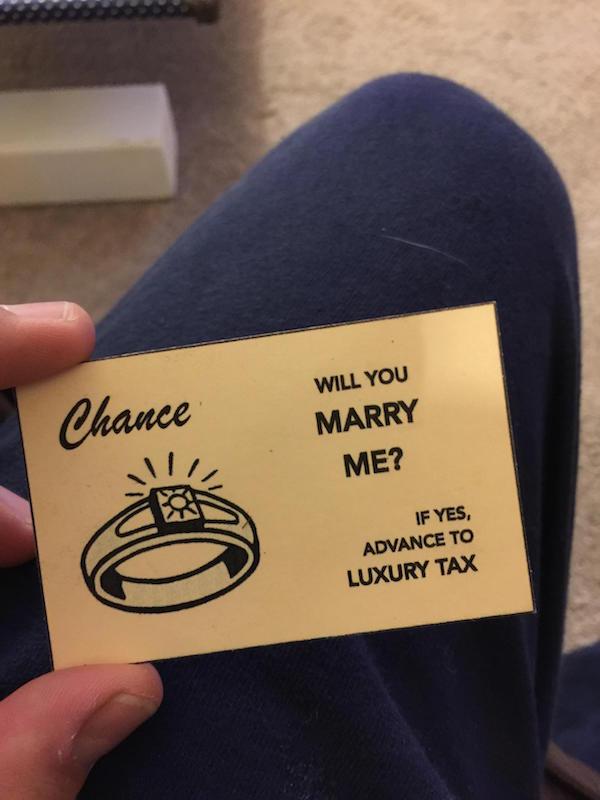 demande monopoly mariage