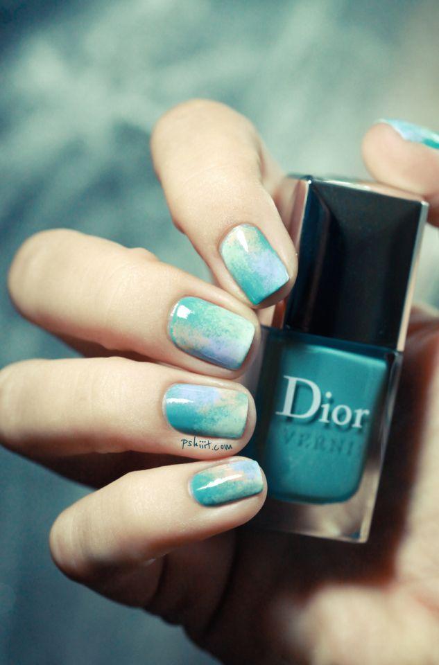Le nail art de la semaine #7 : Le marbre à portée de main