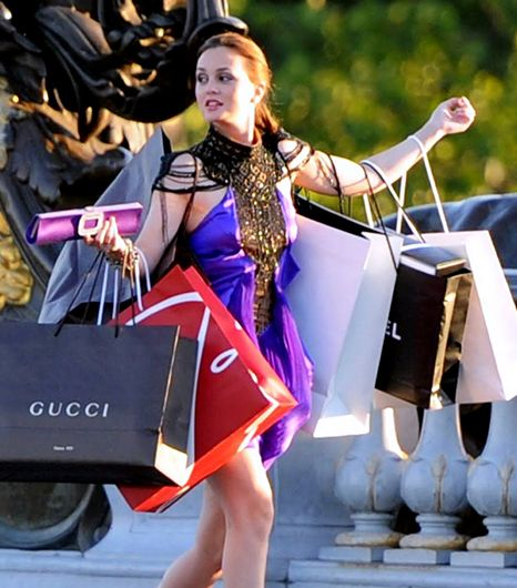 séance shopping gossip girl
