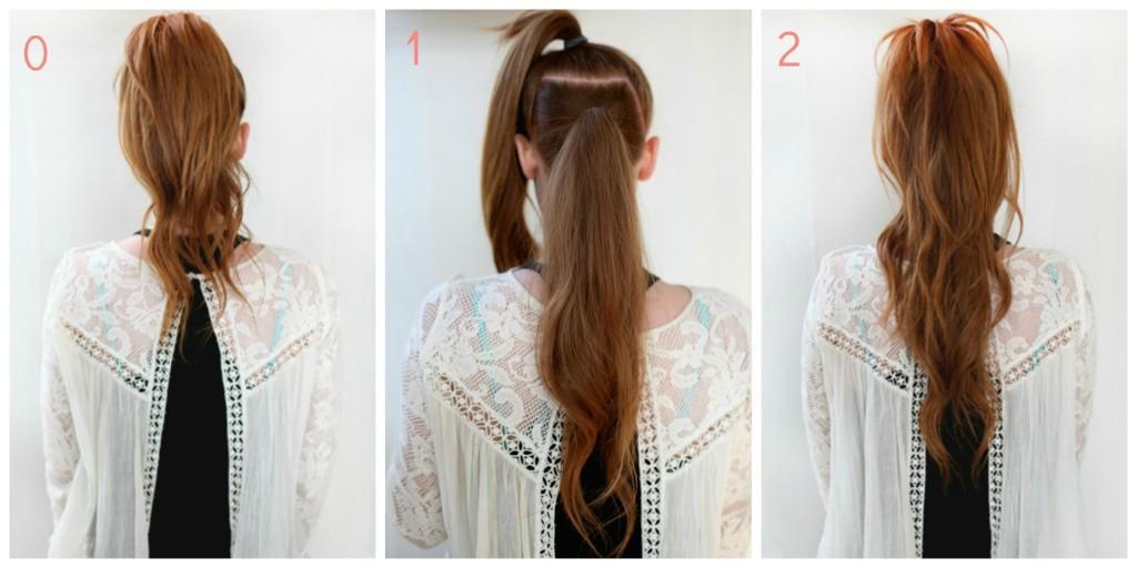 astuce coiffure simple