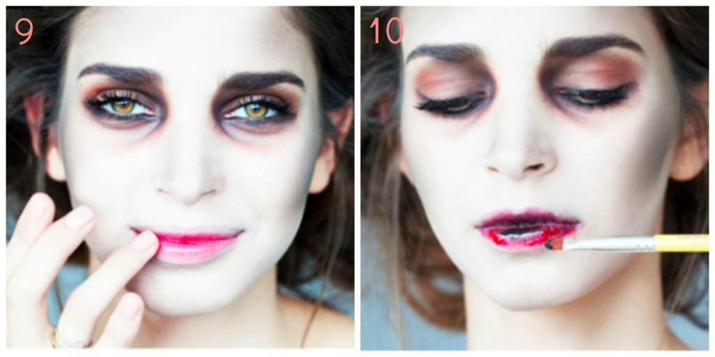 tuto maquillage zombie