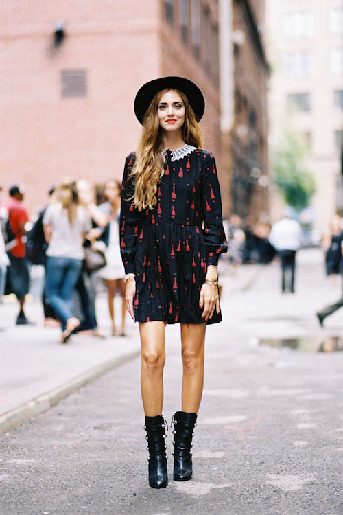 street style chiara ferragno boots
