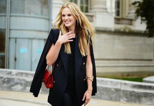 street style cape blazer