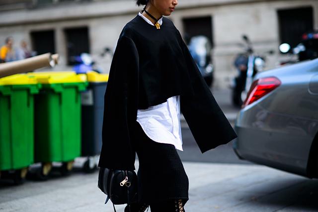 vêtement oversize street look
