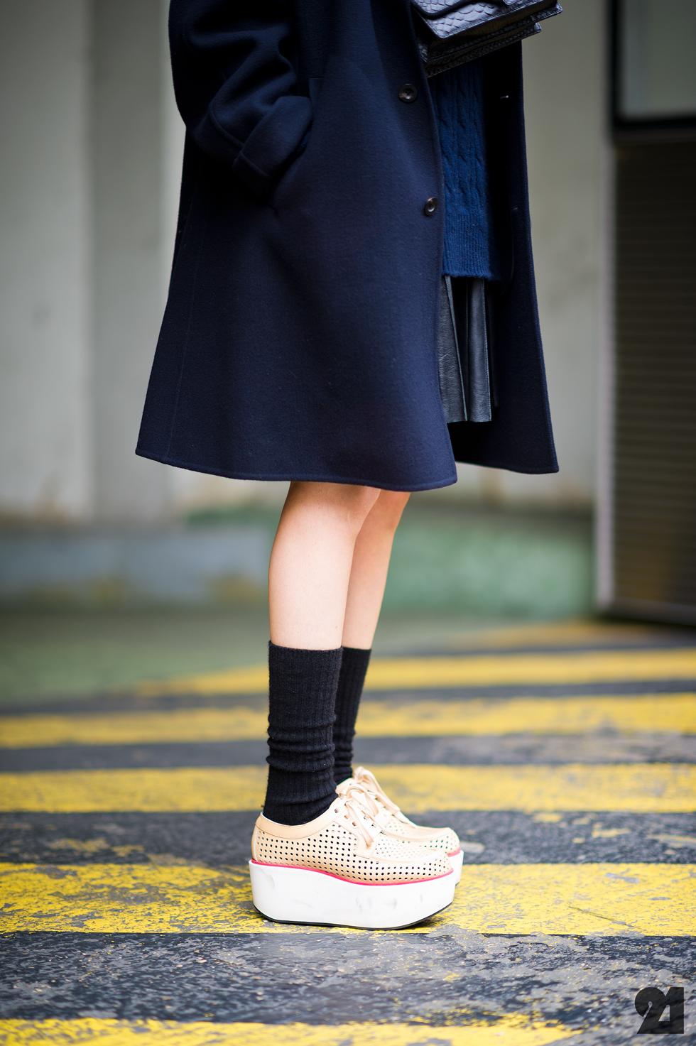 street look chaussure plateforme