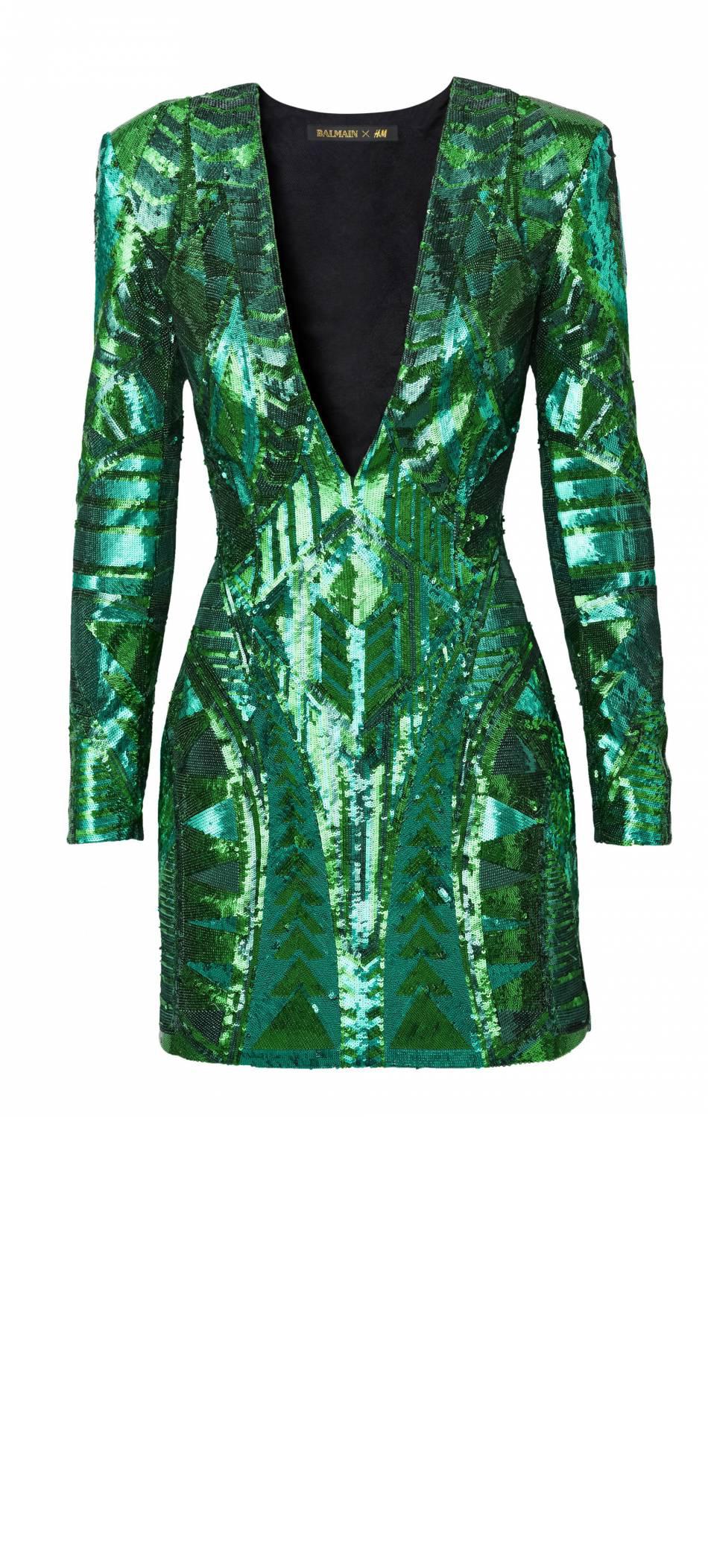 Balmain x H&M - robe
