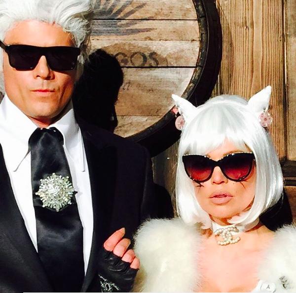 Fergie et Josh Duhamel's Halloween costumes 2015