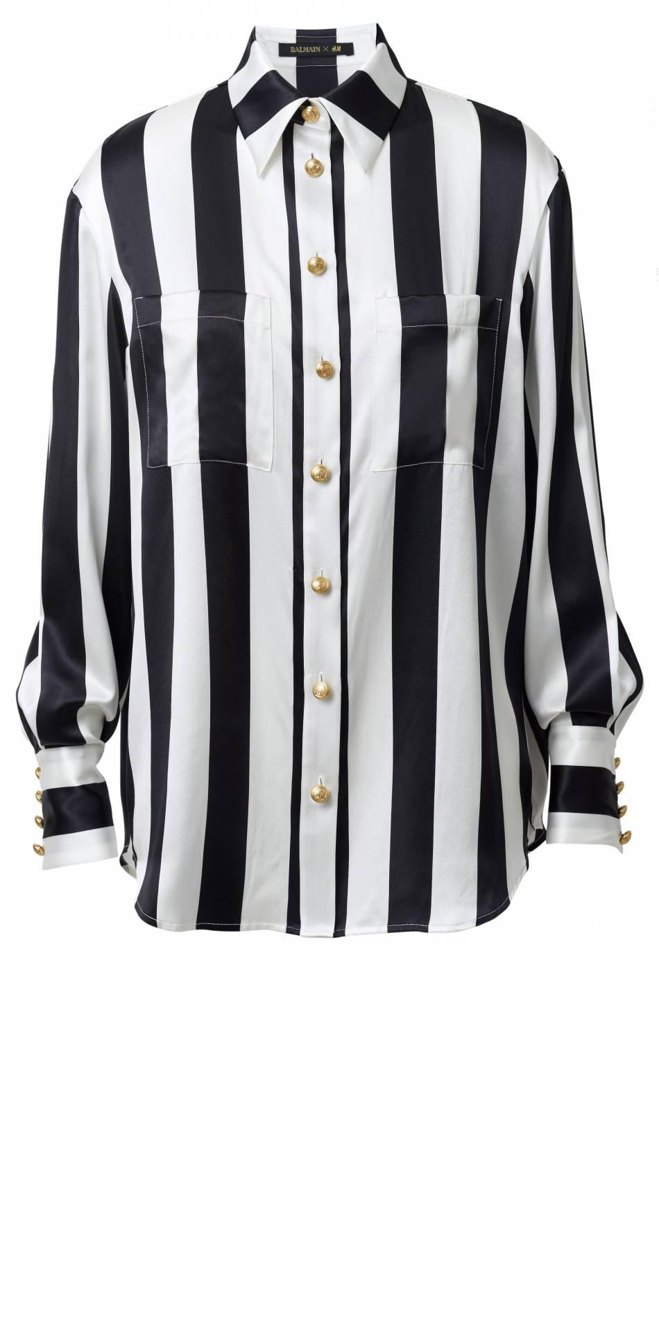 Balmain x H&M - chemise