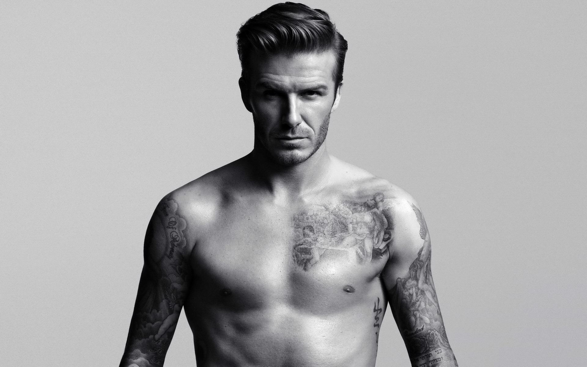 David Beckham : l'homme le plus sexy de 2015
