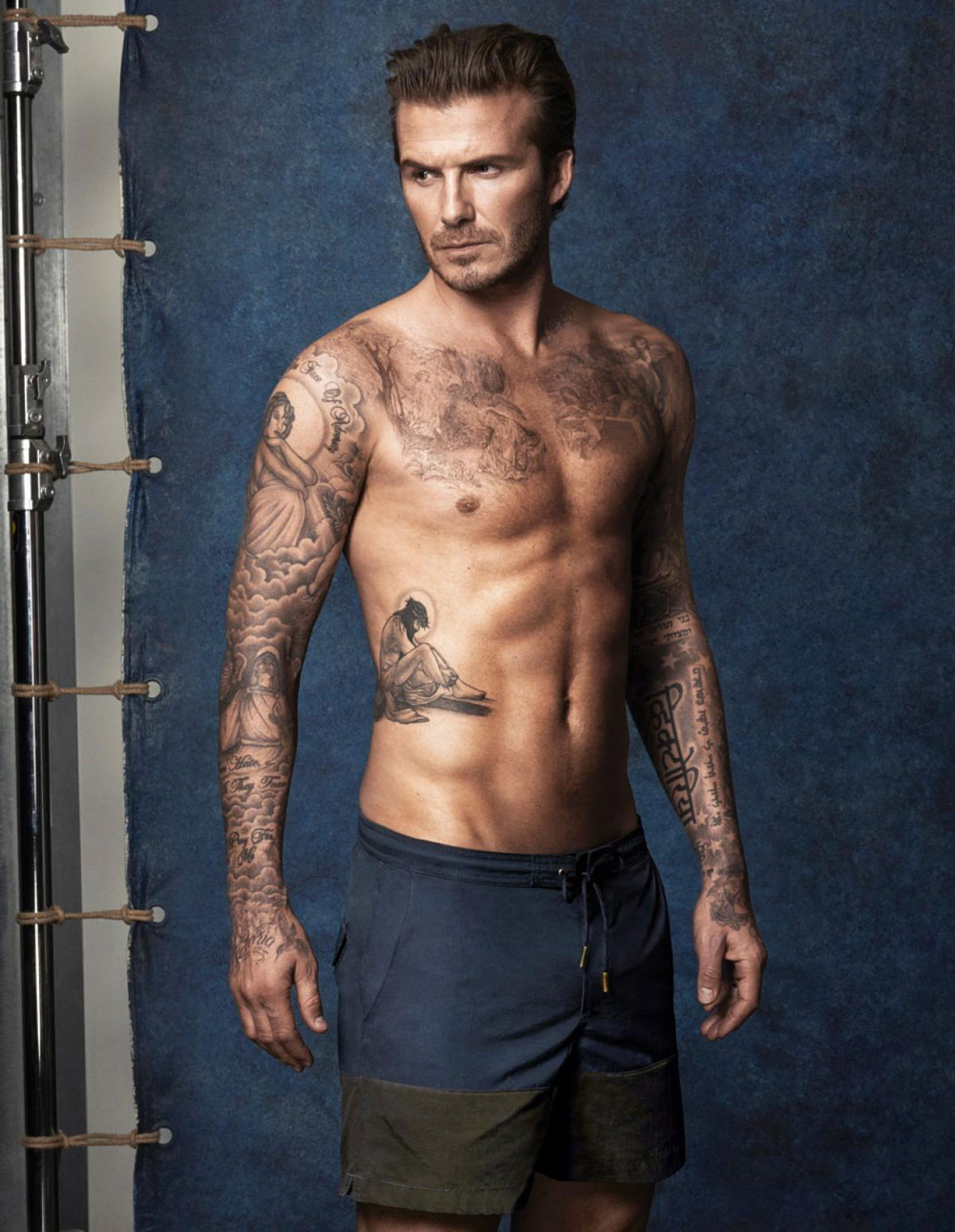 campagne H&M 2014 david beckham home le plus sexy 2015