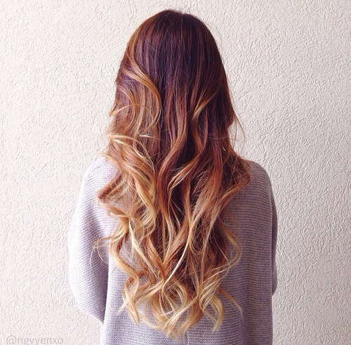 fluid hair painting coloration tendance 2015