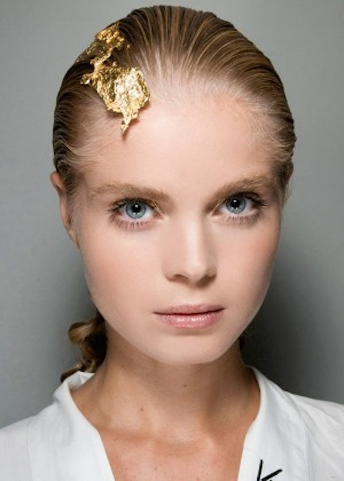 Gold-Leaf Hair mettre de l'or
