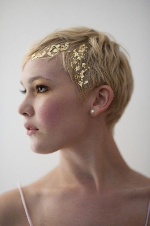 Gold-Leaf Hair