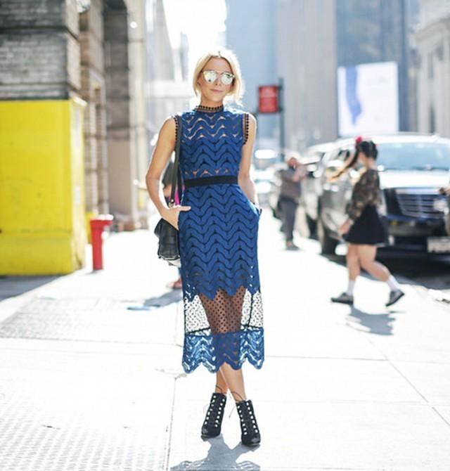 street style jupe en dentelle
