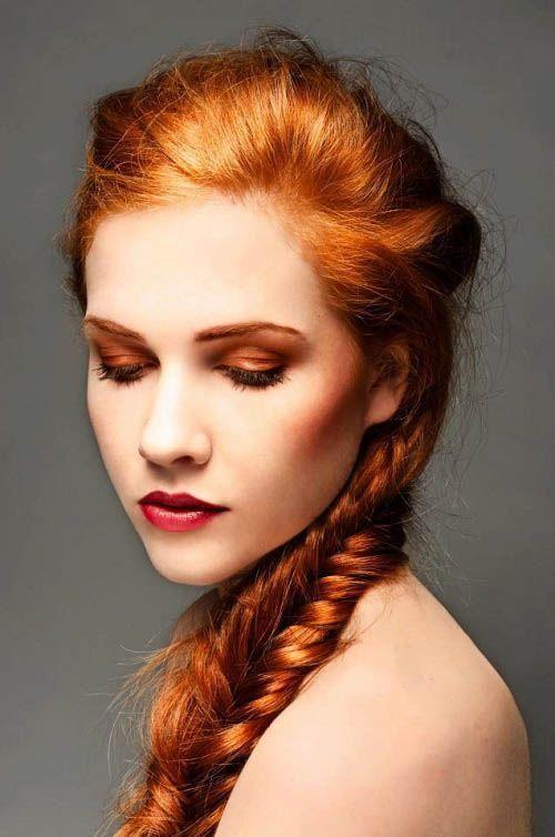 couleur de cheveux pour l'automne