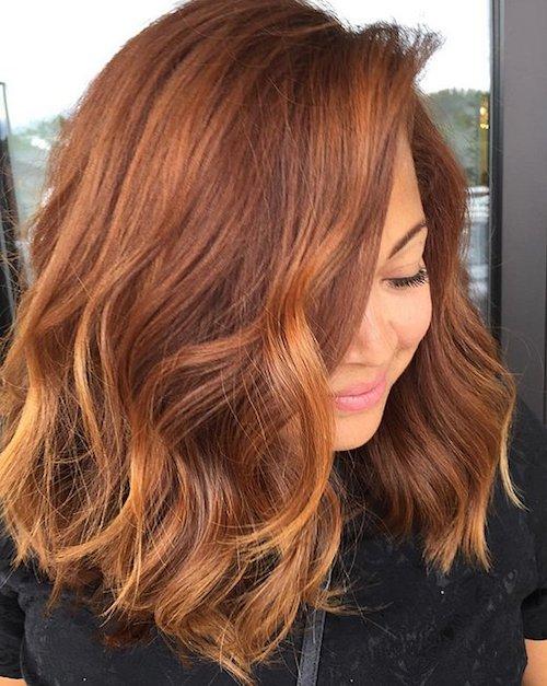 pumpkin hair nouvelle couleur