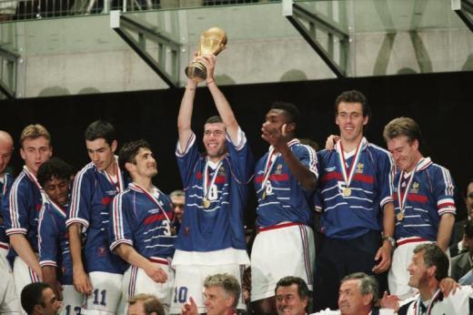 Victoire de la France à la coupe du monde 1998