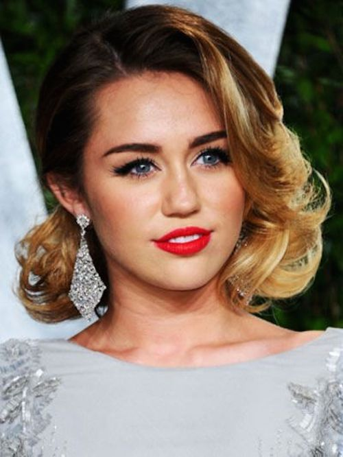 Miley cyrus bob hairstyle