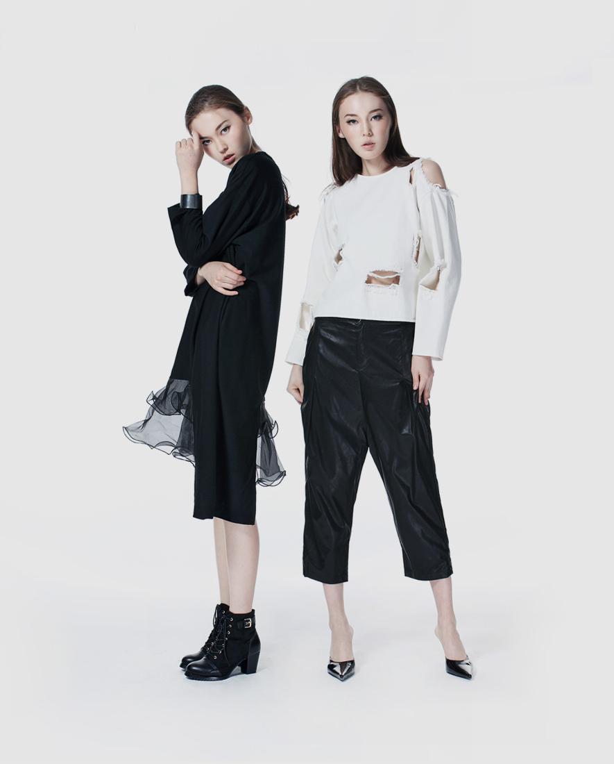 outfit soeurs marque coréenne mode