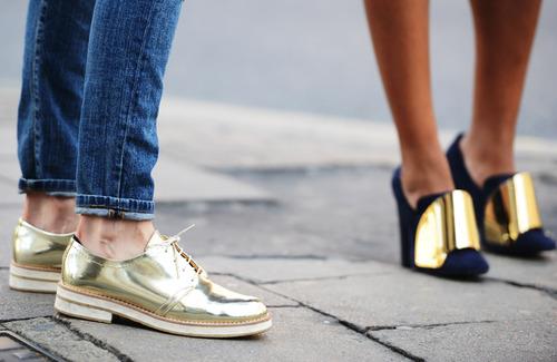 Mardi #Shoesday : 16 paires de chaussures en or