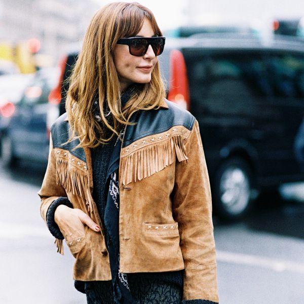 street style vestes en daim