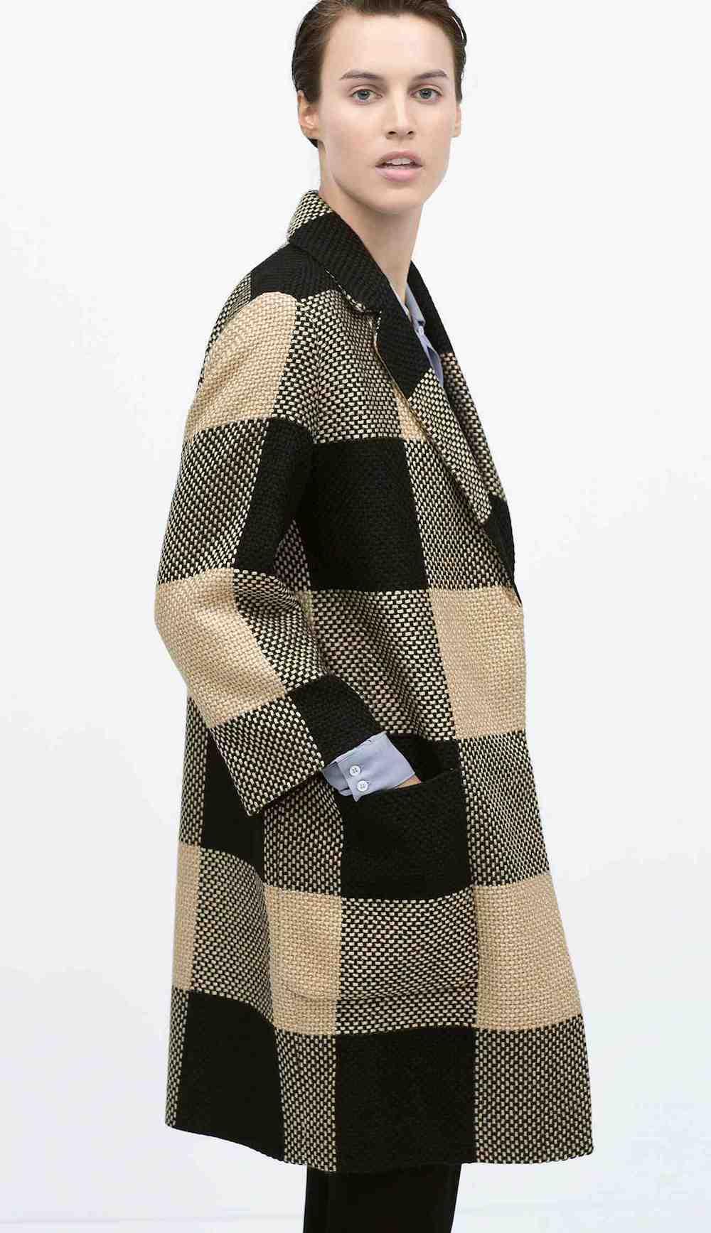 Zara - Manteau(90 €)