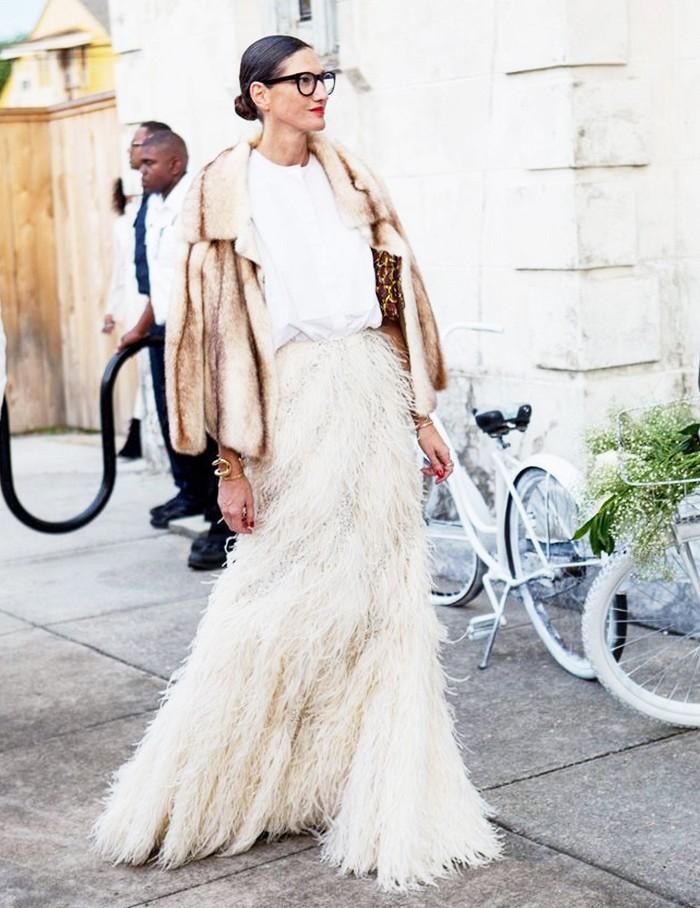 Comment porter du blanc en hiver