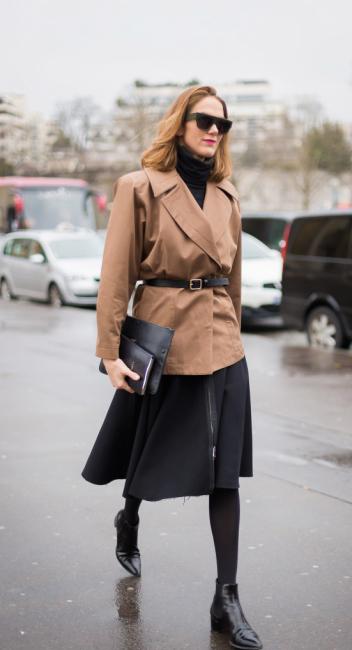 comment porter son manteau en hiver 5