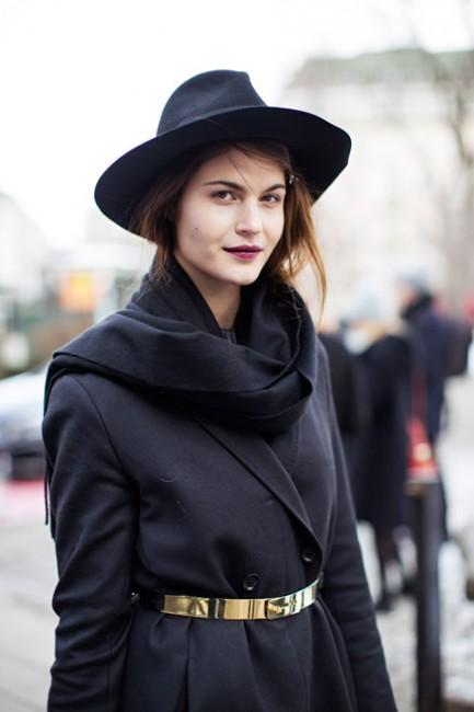 comment porter son manteau en hiver 9