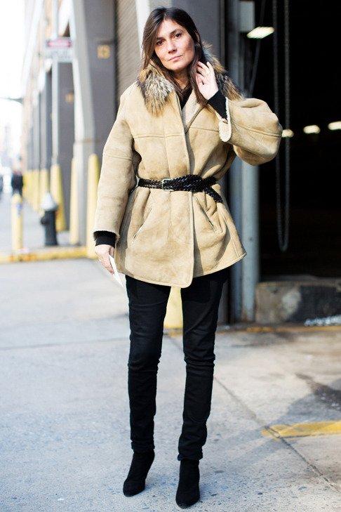 comment porter son manteau en hiver  3