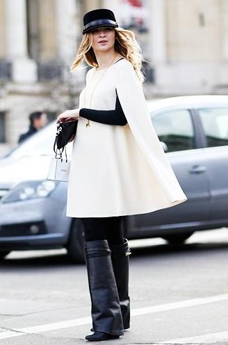 Comment porter du blanc en hiver 10