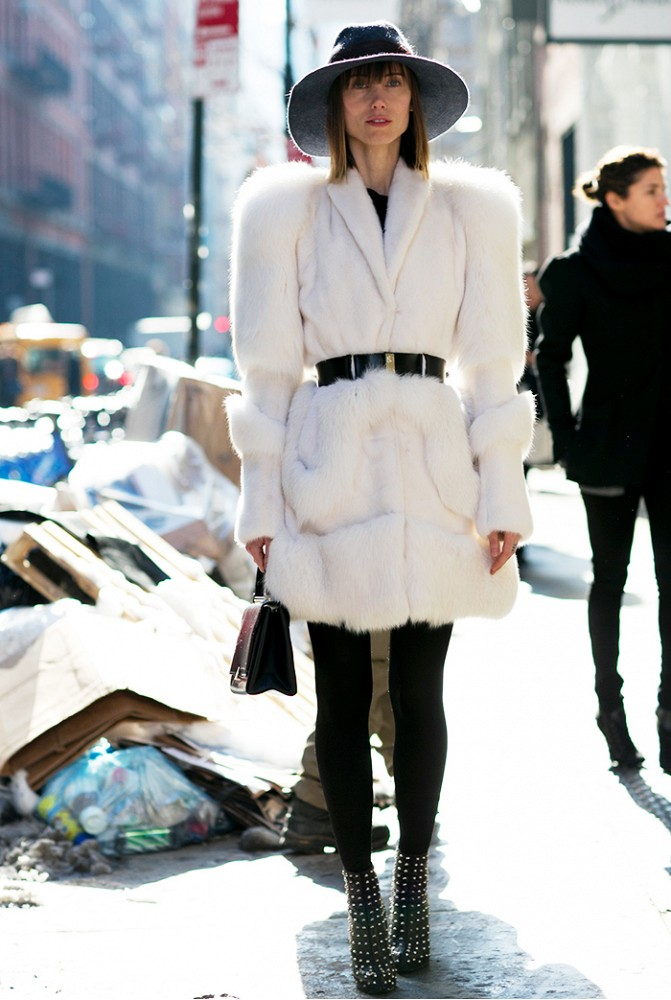 Comment porter du blanc en hiver 7