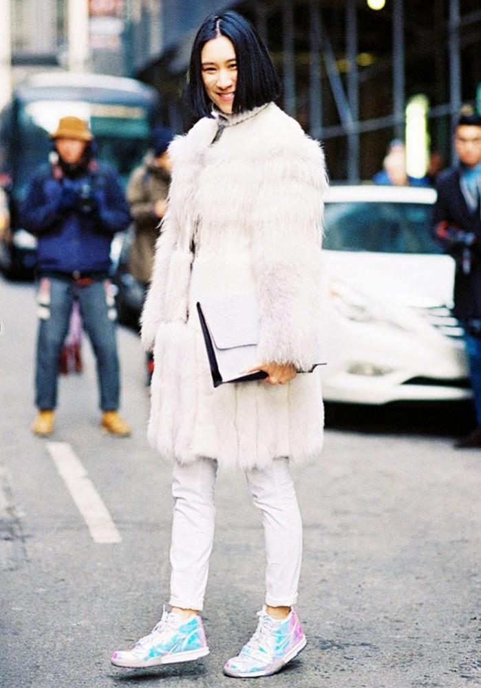 Comment porter du blanc en hiver 9