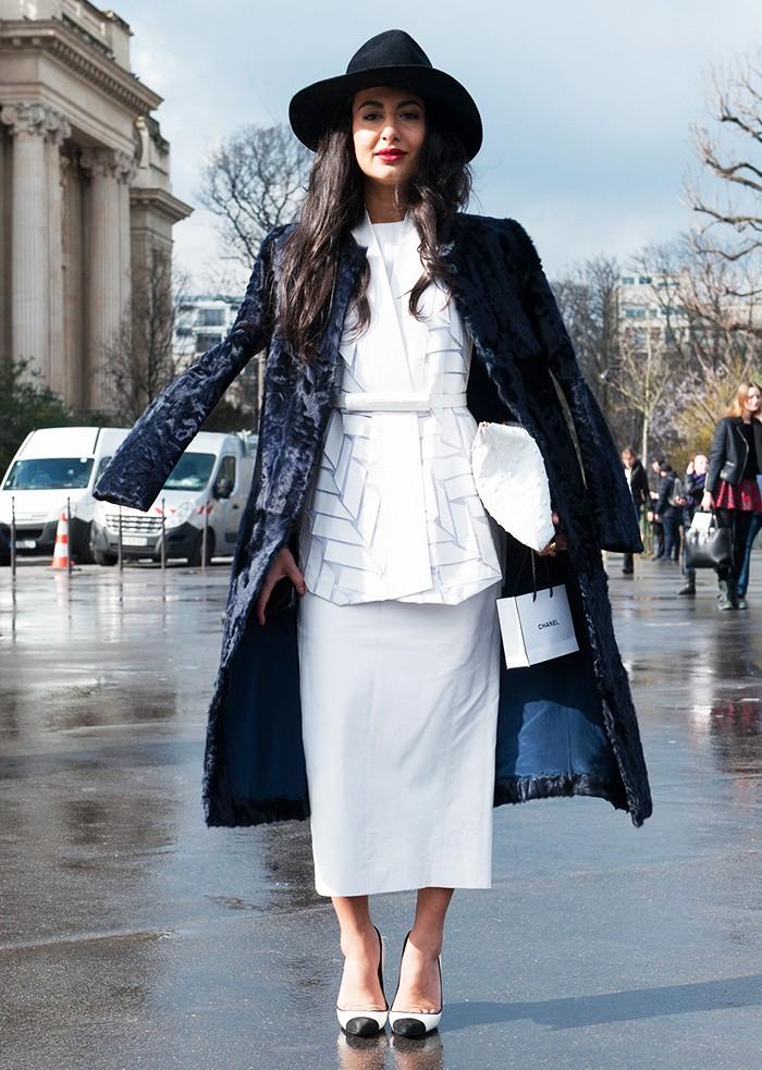 Comment porter du blanc en hiver 2