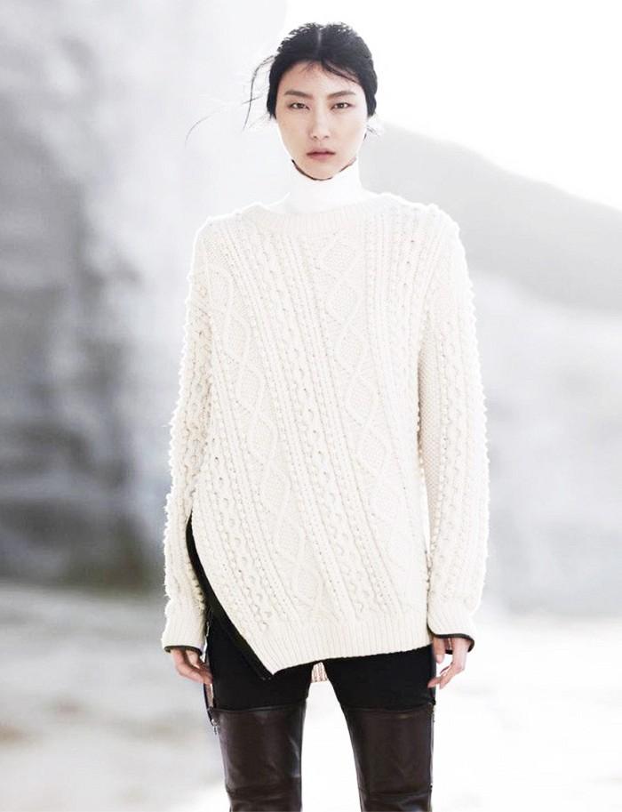 Comment porter du blanc en hiver 3