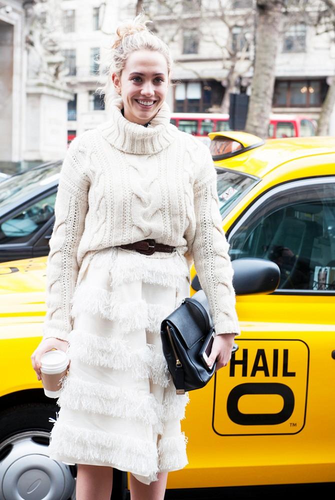 Comment porter du blanc en hiver 5