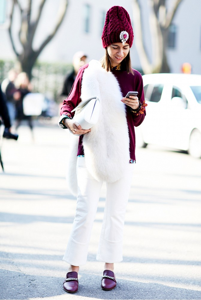 Comment porter du blanc en hiver 6