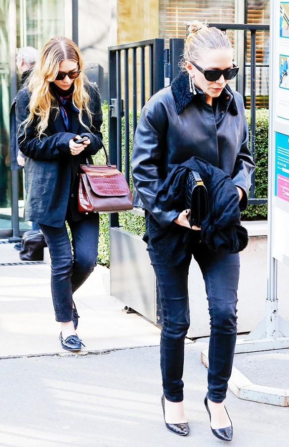 Accessoires d\'extrême importance pour les twins Olsen !
